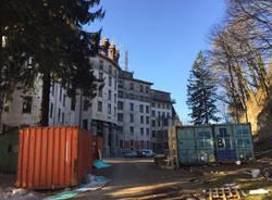 Il set di Suspiria, concluse le riprese al Grand Hotel Campo dei Fiori