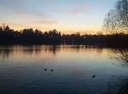 Il tramonto dolce di Sesto Calende