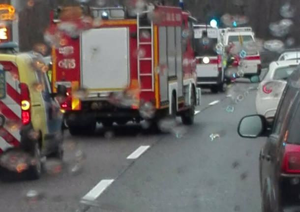 Incidente stradale su SS336