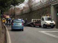 Incidente via Gasparotto Varese