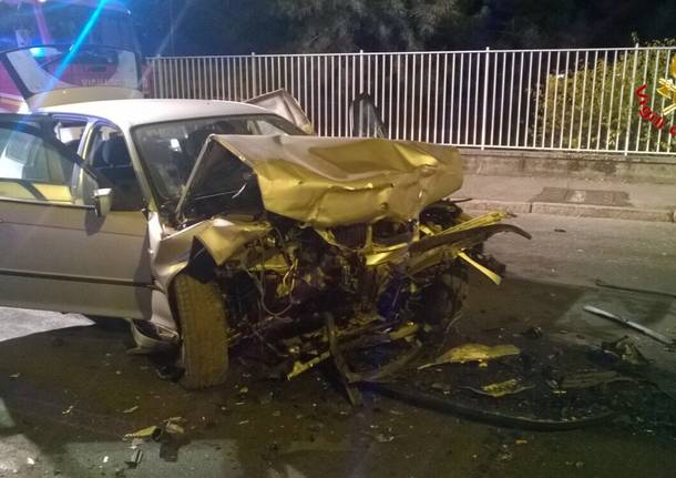 Incidente in via Varese a Gallarate