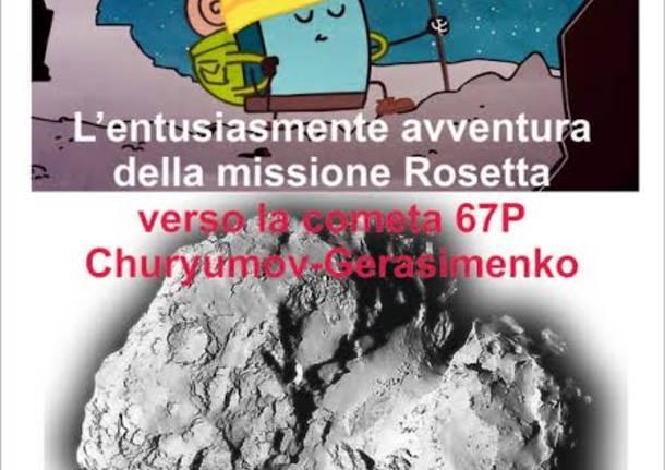 La missione di rosetta spiegata in un cartone