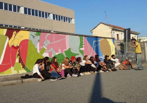 murale CFP Gallarate