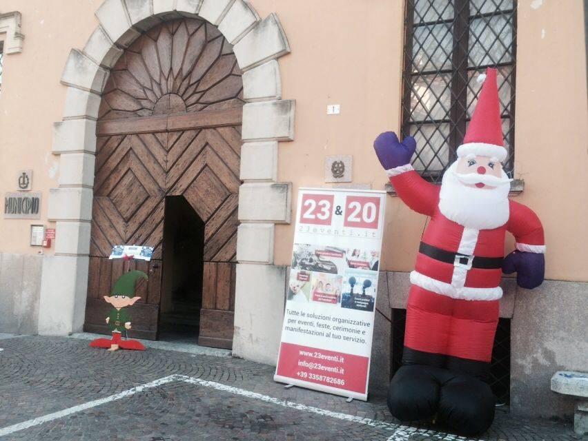 Nel villaggio di Babbo Natale a Casciago