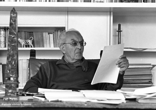 Piero Chiara foto Enrico Lamberti