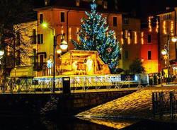 Porto Ceresio a Natale - foto di Fabio Paparelli