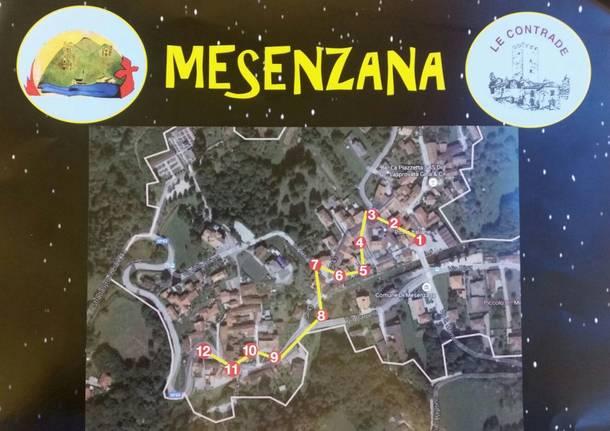 preparativi per presepe vivente a Mesenzana
