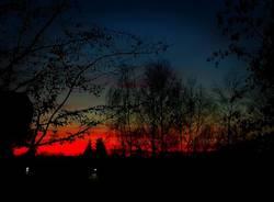 Rosso tramonto - foto di Davide Franzi