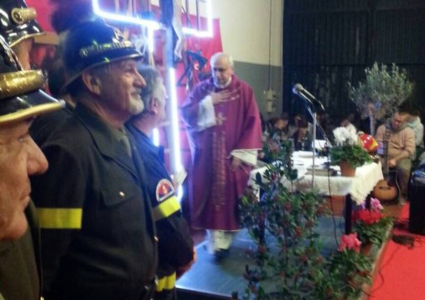 Somma Lombardo festeggia i suoi pompieri