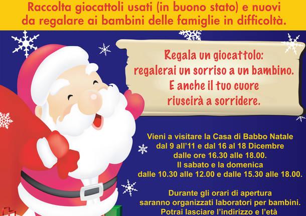 Descrizione Di Babbo Natale Per Bambini.Alla Casa Di Babbo Natale Parte La Raccolta Di Giocattoli Usati