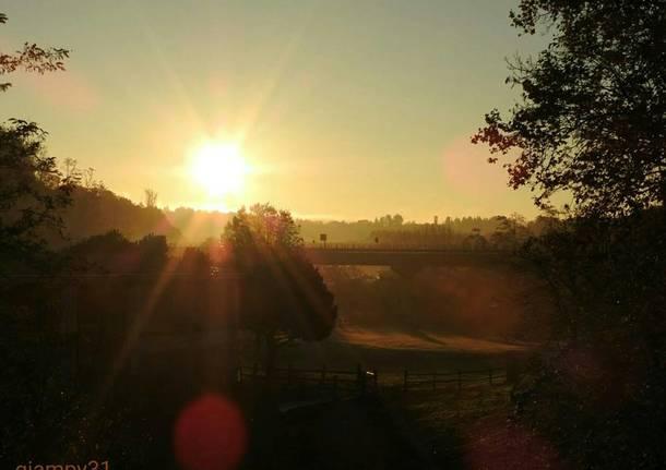Spunta il sole a Induno Olona - foto di Gianpietro Toniolo