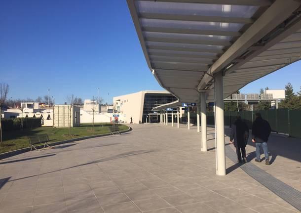 La stazione Malpensa Aeroporto Terminal 2