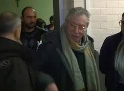 Umberto Bossi ospedale Angera