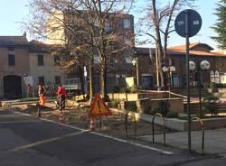 Vedano Olona - Nuovi parcheggi in piazza san Rocco