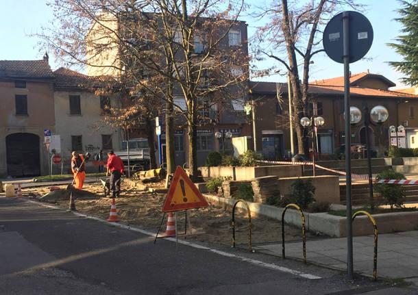 Nuovi parcheggi a Vedano Olona