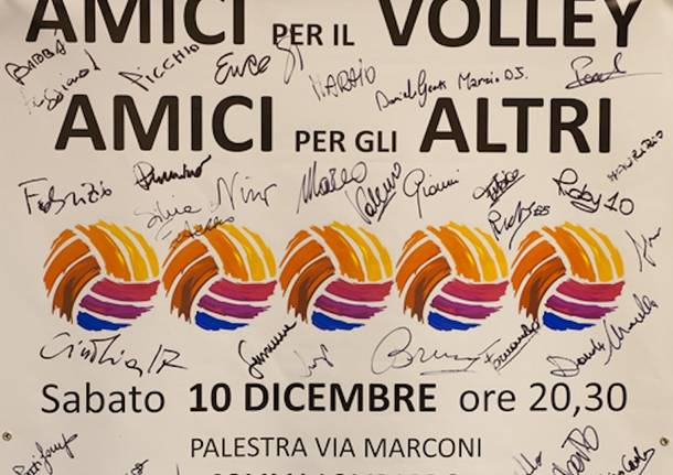 Volley per solidarietà a Somma