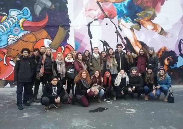 a lezione di street art