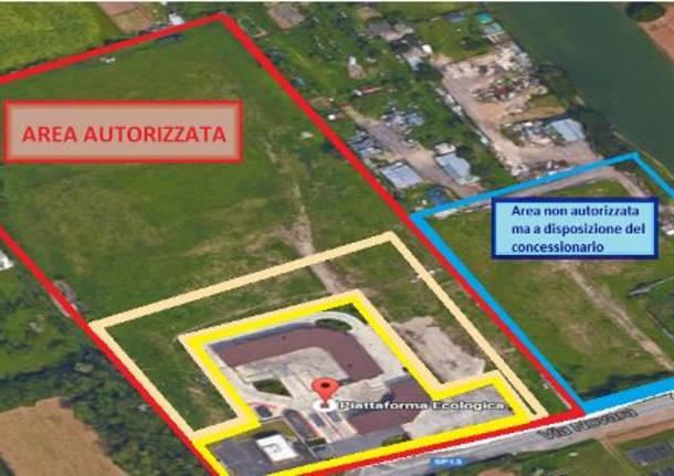 area impianto biogas umido via novara legnano