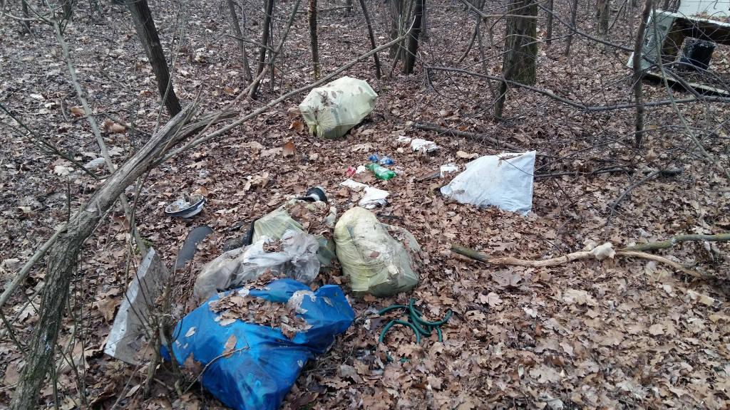 boschi PArco Ticino rifiuti 2017