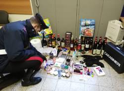 carabinieri furto supermercato merce rubata