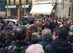Il funerale di Luca Antonetti