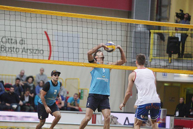 Beach volley tour a Busto