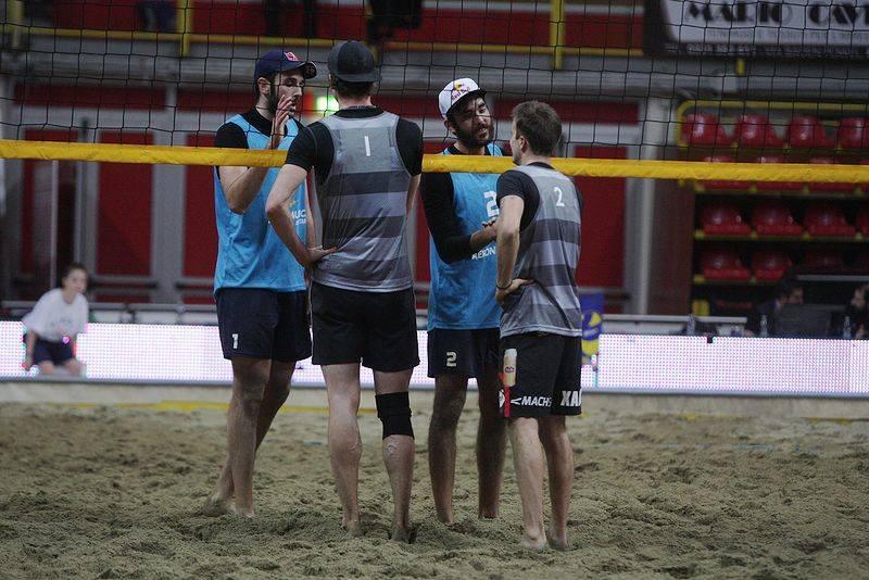 Beach volley tour a Busto