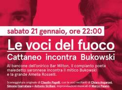 Le voci del fuoco - Simone Cattaneo incontra Bukowski