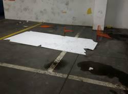 Vandalismi nella notte a Luino