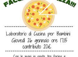 *LABORATORIO PER BAMBINI: LA PIZZA E LA FOCACCIA