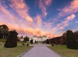 Tramonto su Villa Panza
