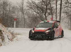 Rally - I test di Crugnola sulla neve di Gap