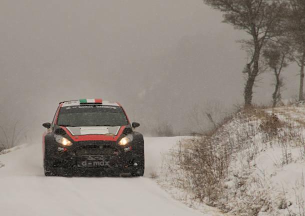 Rally – I test di Crugnola sulla neve di Gap