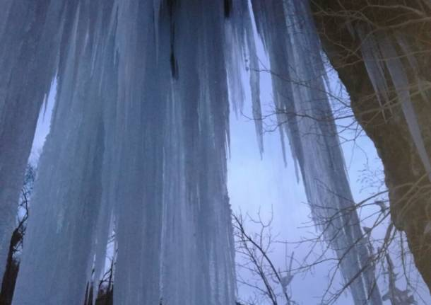 Il ghiaccio in Valganna