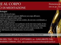 Tornare al corpo. Seminario di meditazione (Gianfranco Bertagni)