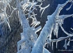 Sculture di ghiaccio in Valganna