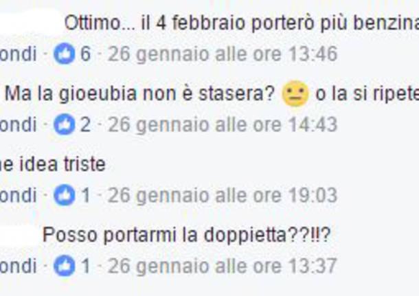 commenti facebook razzismo festa migranti busto arsizio
