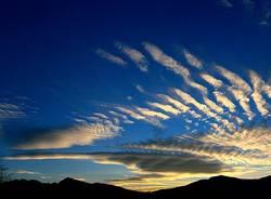 Cuasso al Monte, nuvole - foto di Eugenio Pigato