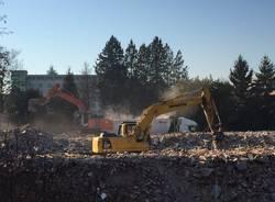 demolizione area ex-peplos castellanza
