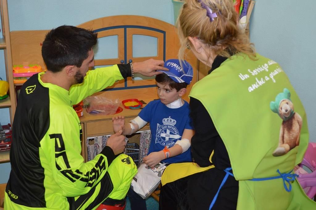 Donazione alla pediatria del Del Ponte