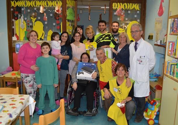 """Doni alla pediatria grazie al libro """"Le fiabe dei motociclisti 2″"""