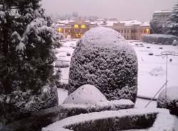 Giardini Estensi sotto la neve