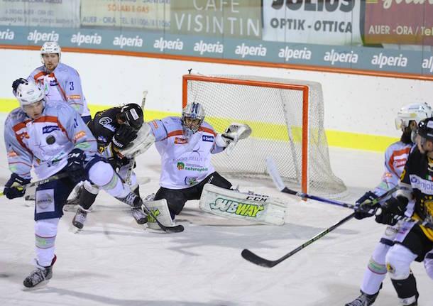 hockey su ghiaccio ora auer mastini varese