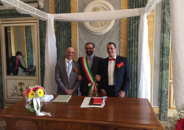 Igor e Gianluca sposi a Casciago