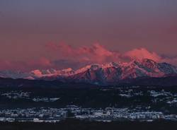Il Monte Rosa e Arona