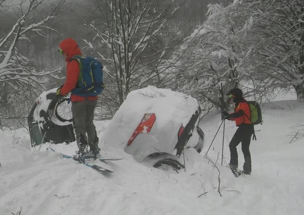 Il soccorso alpino tra i terremotati