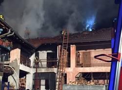 Incendio casa Besozzo-olginasio