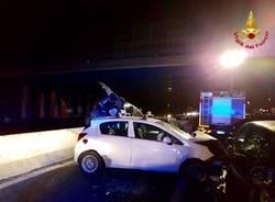 incidente A8 18 gennaio 2017