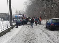 incidente laveno neve