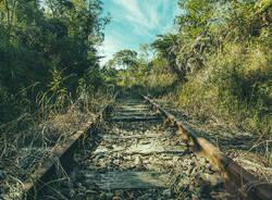 linea ferroviaria vecchia